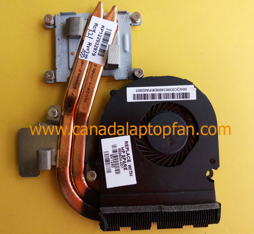 HP Pavilion DM4-3200 Series Laptop Fan and Heatsink 669934-001
