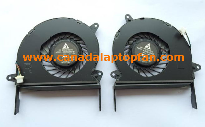 ASUS ZENBOOK U500 Laptop CPU Fan Left and Right
