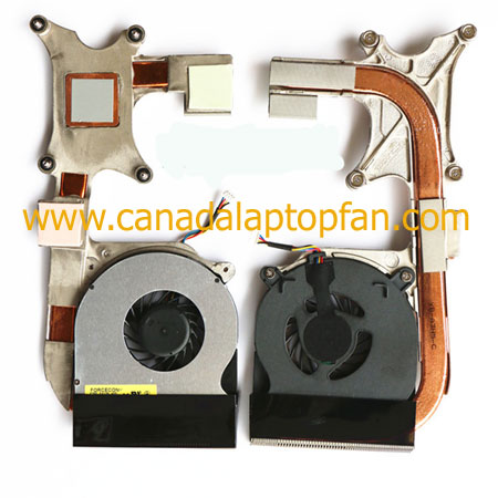 Dell Latitude E6400 Laptop CPU Fan and Heatsink