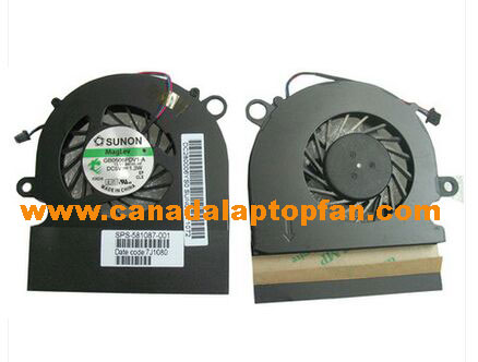 HP ProBook 5310 5310m Series Laptop CPU Fan