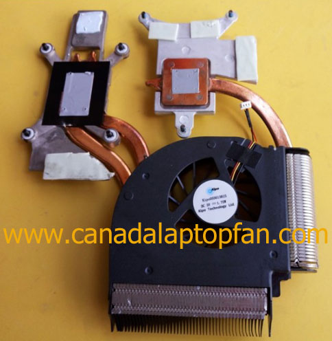 HP Pavilion DV7-3028CA Laptop CPU Fan and Heatsink