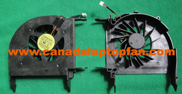 HP Pavilion DV7-3000 Laptop CPU Fan 532614-001 587244-001