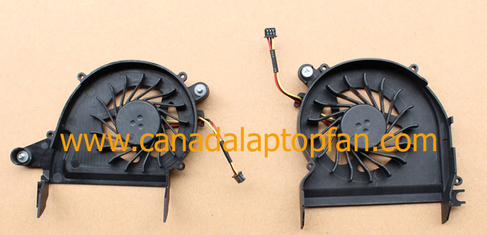 HP Envy 14-2000 Series Laptop CPU Fan 608378-001 657529-001