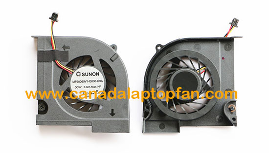 HP Pavilion DV3-4100 DV3-4200 DV3-4400 Series Laptop CPU Fan